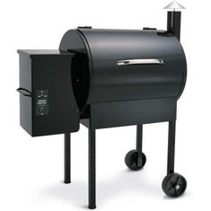 Black Wood Chip Grill Wood Pellet Burning Grills To Make Delicious Food