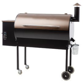 Outside Huge Wood Pellet Burning Grills Moveable Heavy Duty Offset